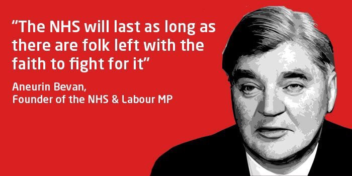 #PMQs The Tories voted against the creation of the NHS 21 times before the act was passed. They are enemies of your NHS. Let us never forget