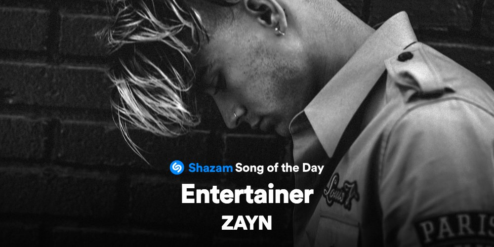 #Entertainer by @zaynmalik is our Song of the Day!!! Listen now on @AppleMusic ---> https://t.co/ZU7Od9ncBW ������ https://t.co/8G5dhUosuY
