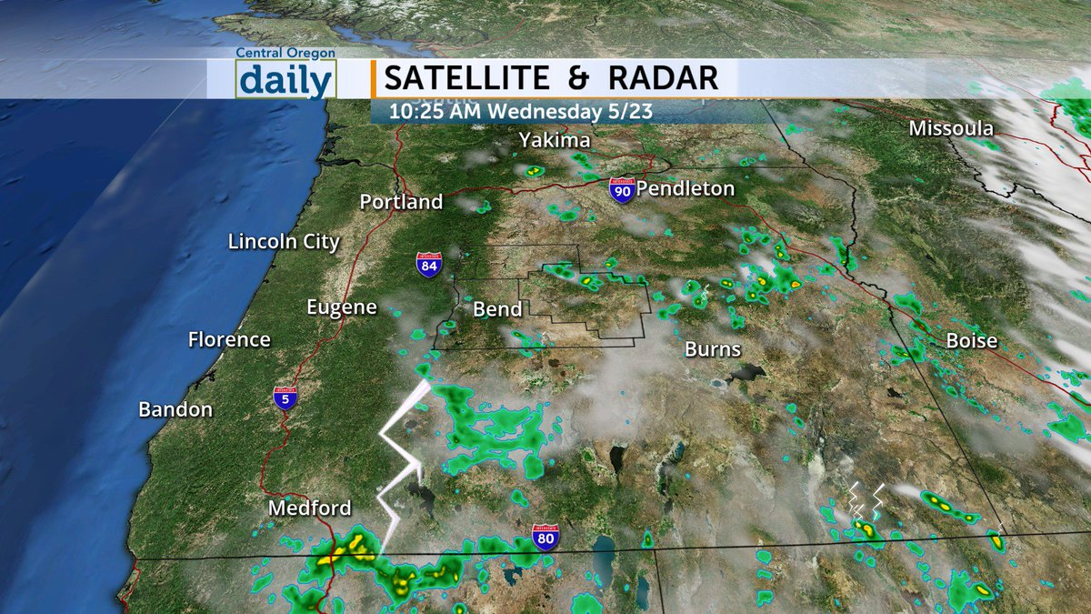 Download The Central Oregon Daily Weather App To Stay Ahead Of Any Storms That Move Through The Area Orwx Join Us Tonight On Codaily For A Full Look At