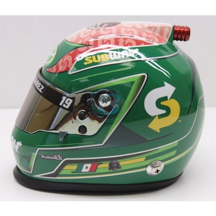 Retweet and follow for a chance to win a mini Daniel Suarez mini helmet!  Name will be drawn high noon on Saturday!  Stop by our store across from @CLTMotorSpdwy this weekend. #nascar.   http:// Jeffhammondstore.com  &nbsp;  <br>http://pic.twitter.com/jR6EFUp4p2