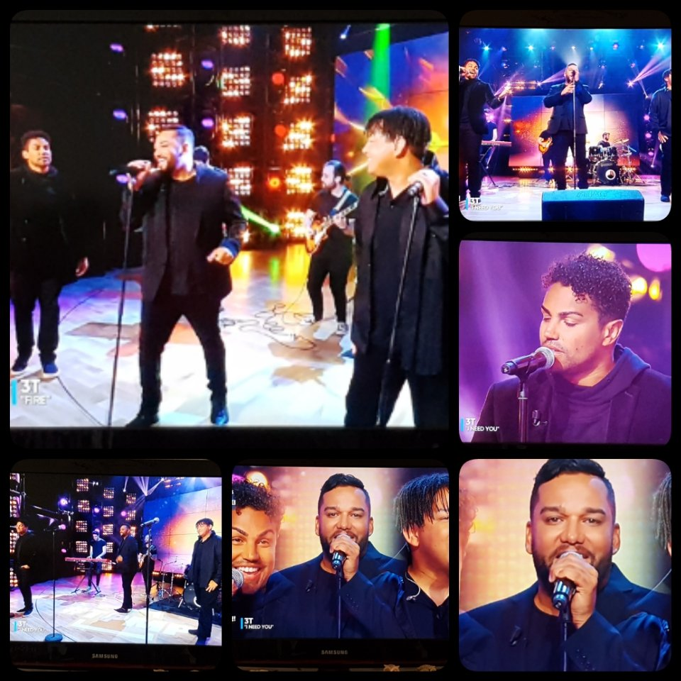 @TheReal3T @tajjackson3 @tarylljackson @tjjackson 🤗😘 so happy to see you live on our French TV show @TPMP blessings and love 😍
