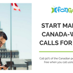 Make calls across 90% of Canada for FREE from anywhere in the world! And the rest of Canada for only 2¢/min.    Learn more about our coverage: https://t.co/2aG7lq0cTF