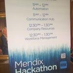 Some cool pics from the #Mendix team on site! RT @joe_kilduff Great turnout for the @erie_insurance Hackathon. #eriemendixhack @Mendix