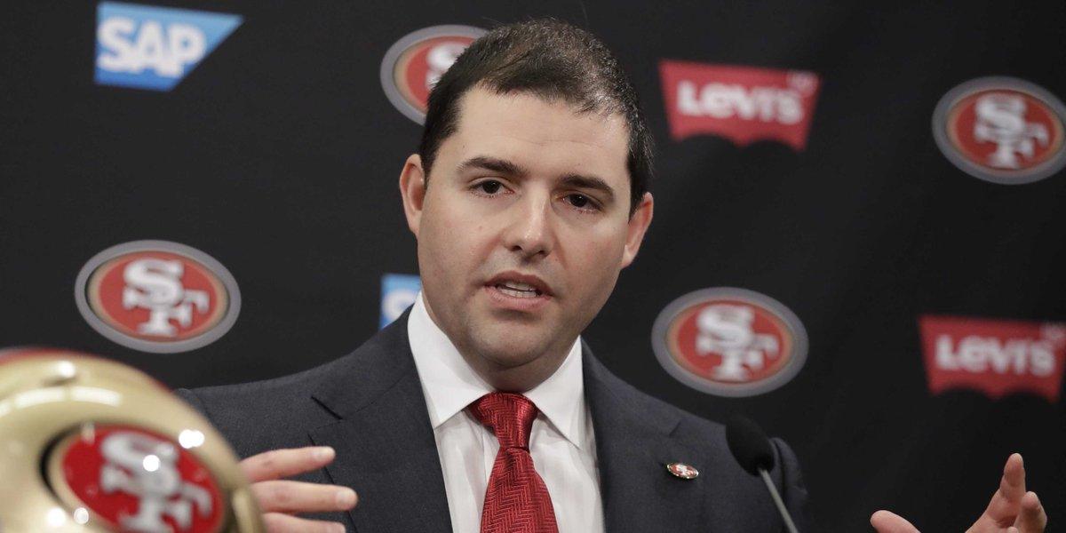 Niners owner Jed York says he abstained from national anthem policy vote, in part, because of the lack of player involvement in process  https://t.co/GtCcNjcyZl