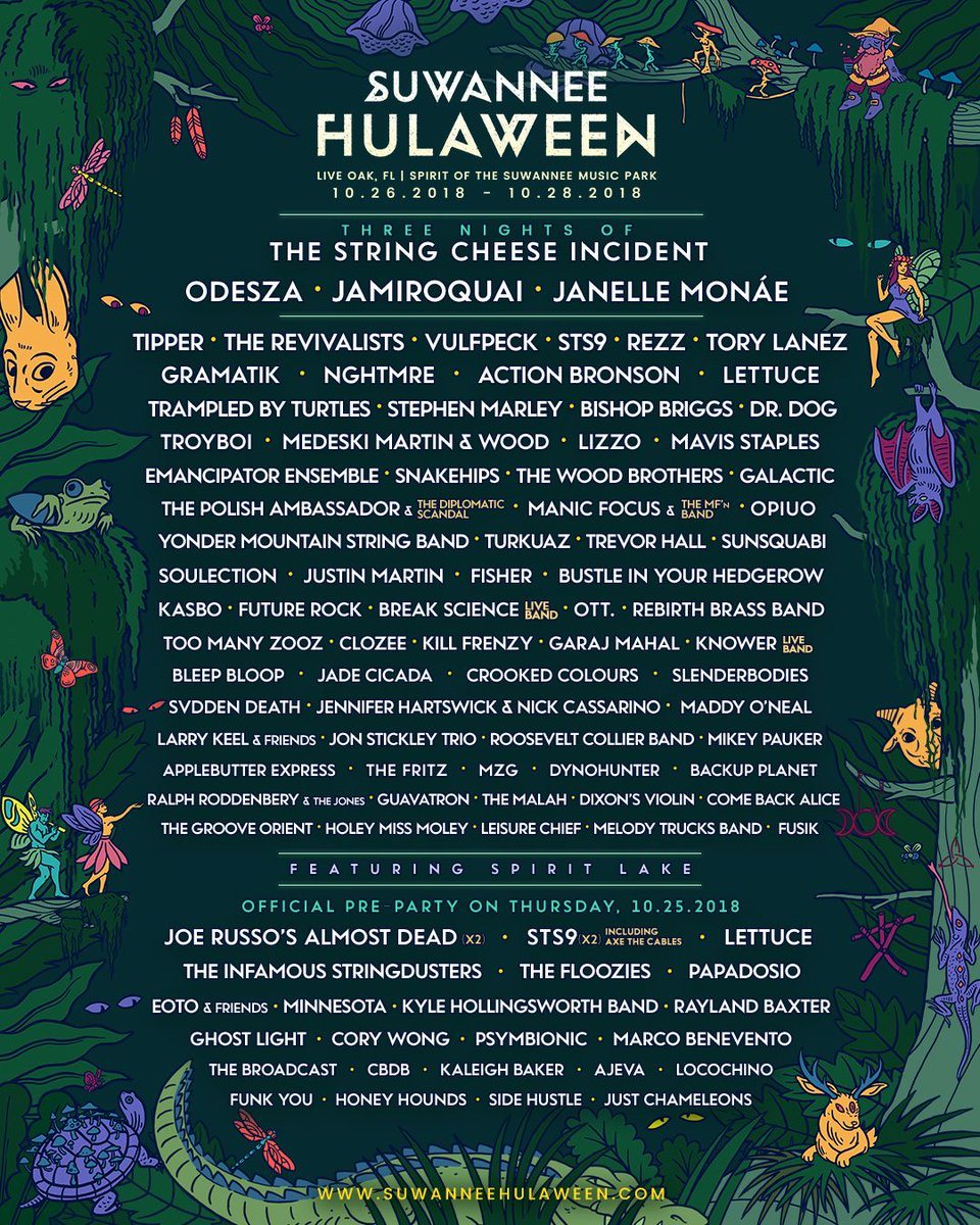 Halloween Music Festival Florida | Clozee On Twitter Comin For Ya This October At Hulaweenfl Grab