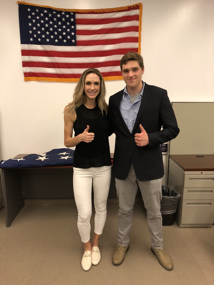 Big thanks to the incredible @LaraLeaTrump for speaking with my at Trump Tower today! There's no other President or administration I'd trust more with securing our schools!  #SchoolSafety over #GunControl<br>http://pic.twitter.com/QpWoGID85P