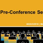 ASUG Pre-Conference Seminars are filling up fast!These comprehensive sessions will cover the most sought-after SAP offerings. Info: https://t.co/TnBDPf9brd #ASUG2018 #SAPPHIRENOW