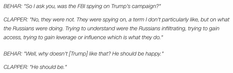This is what James Clapper actually said  https://t.co/9qb9GKwk2f