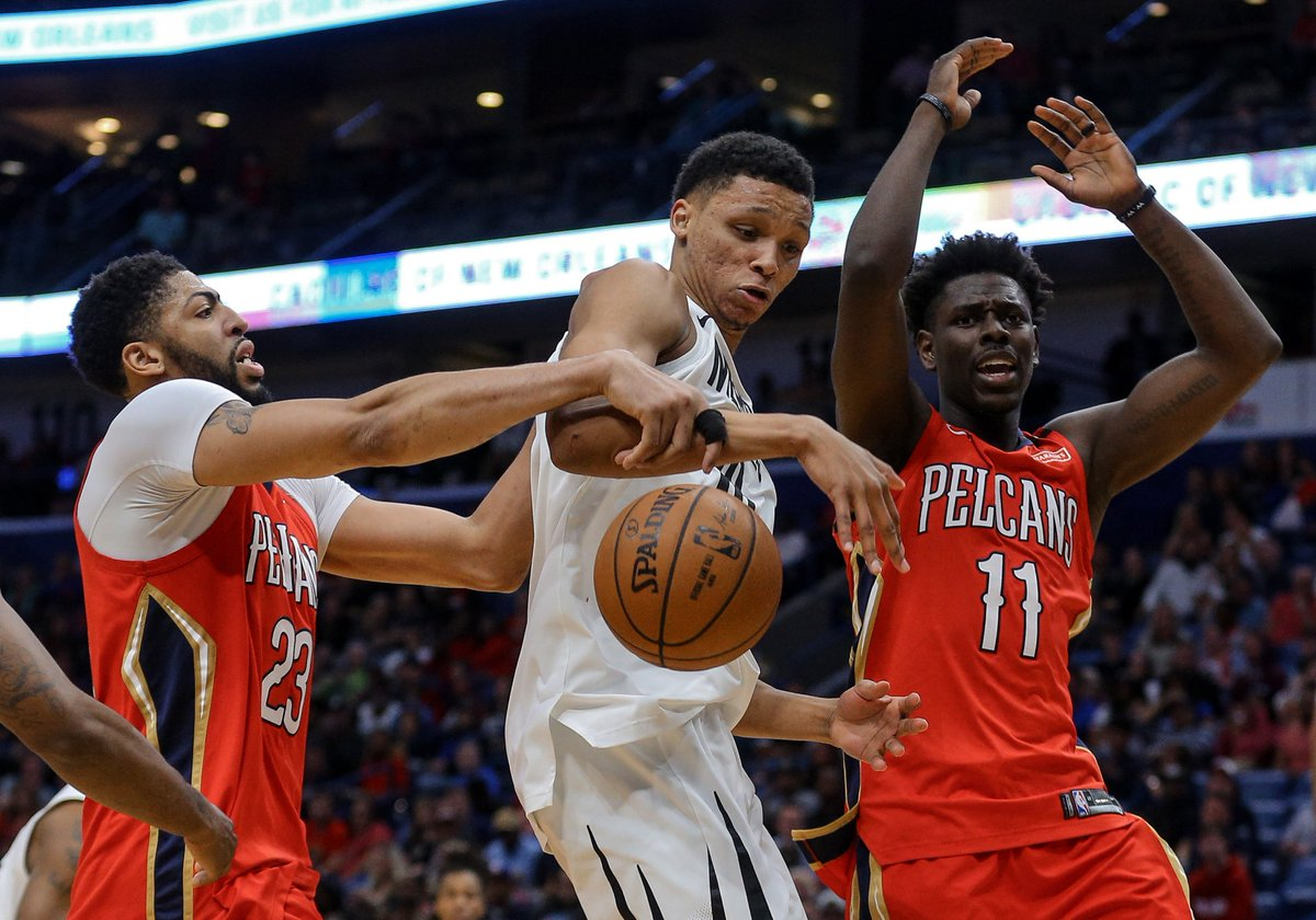 Basketball Reference On Twitter Anthony Davis And Jrue Holiday Are