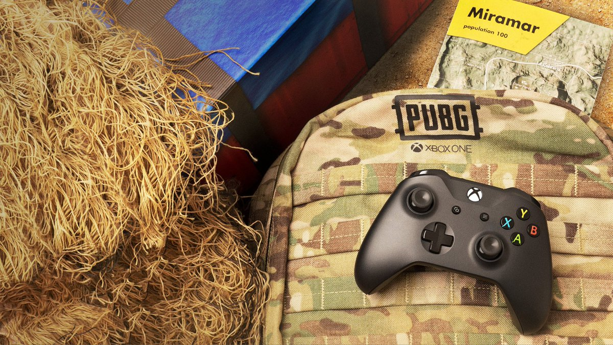 Who&#39;s ready for the #PUBG update tomorrow with the Miramar map public release?   #XboxOne #XboxOneX <br>http://pic.twitter.com/NOYfFAYOmv