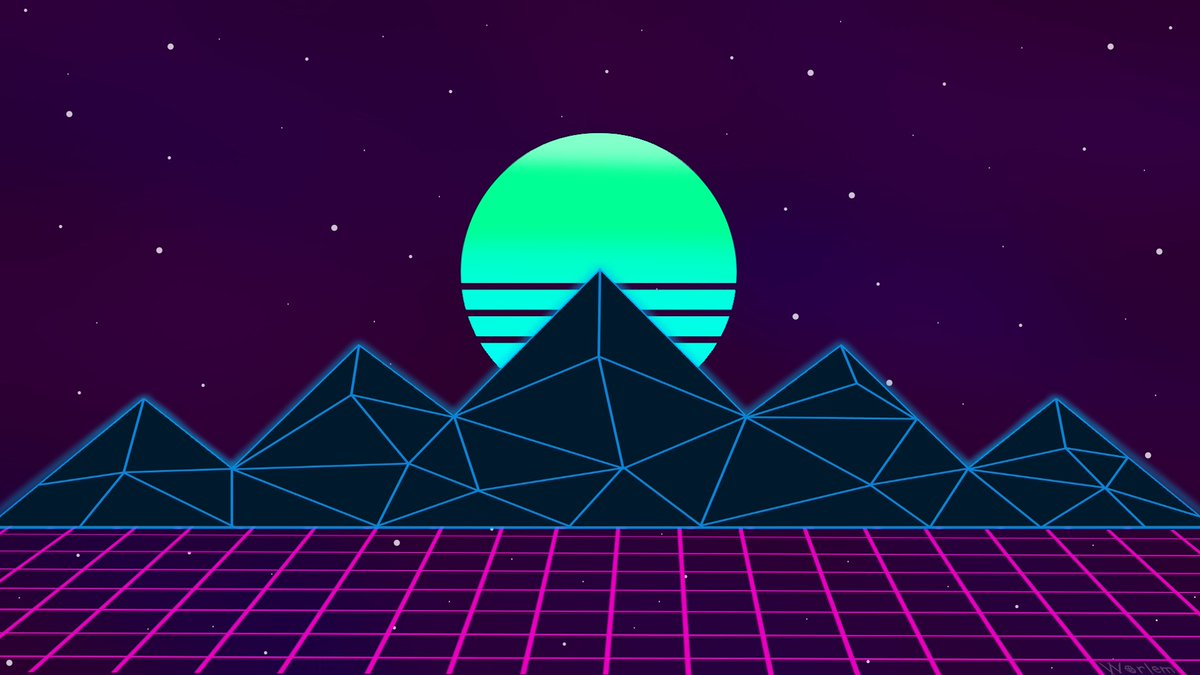 Worlem On Twitter Did A aesthetic Aesthetic 80s
