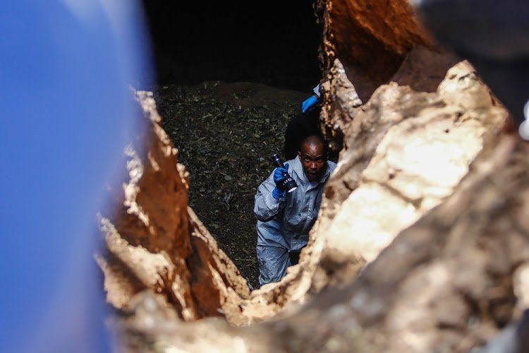 The body of a third man' suspected of being a Zion Christian Church congregant' was found in a cave outside Pretoria. https://t.co/PccLKB04x0
