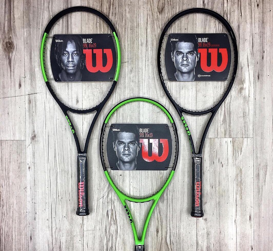 1 racket, 3 designs. Which do you choose? Reverse, Black Edition, or traditional Blade?