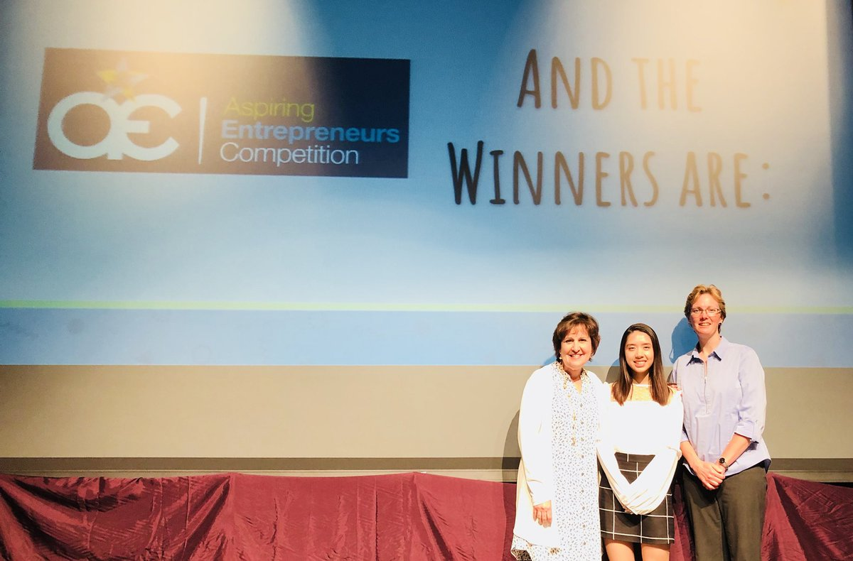 Cindy Le took 1st place in the Shark Tank-like Aspiring Entrepreneurs Competition! Way to go, Warrior! Many thanks to Mrs. Shearer for your support and coaching! #wcpsmd @ciachief @reinhjes<br>http://pic.twitter.com/MytTTmMf1A
