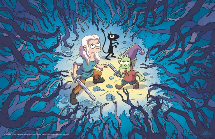 Image result for Disenchantment  Verified account