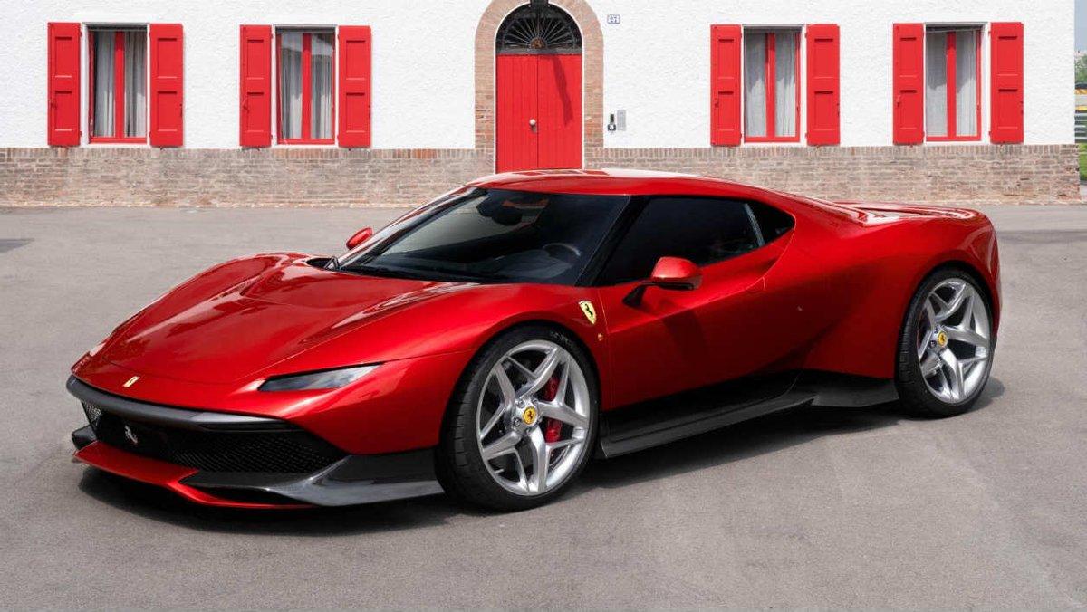 Voici la dernière Ferrari et c'est un exemplaire unique https://t.co/gscSKEX7rq