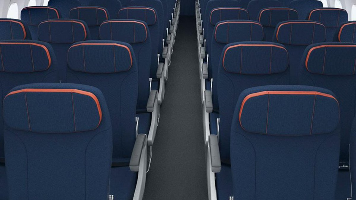 Sun Country redesigns plane interior, eliminates first class. https://t.co/tTXVsEhSU6