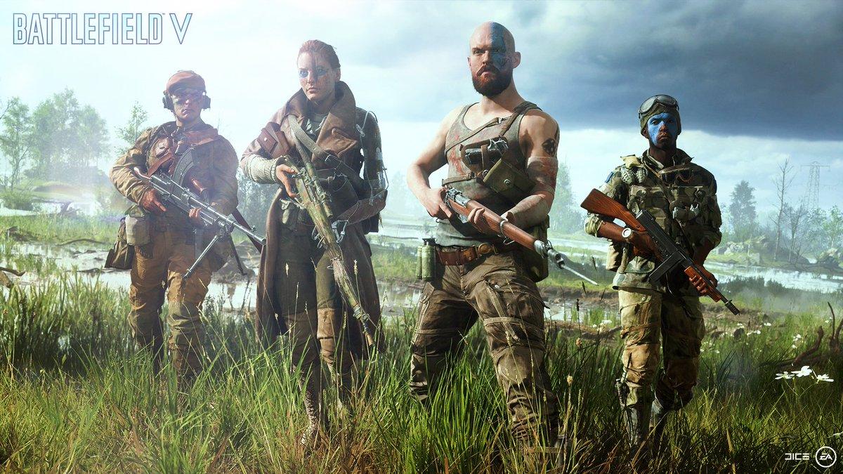 Вторая мировая в Battlefield V