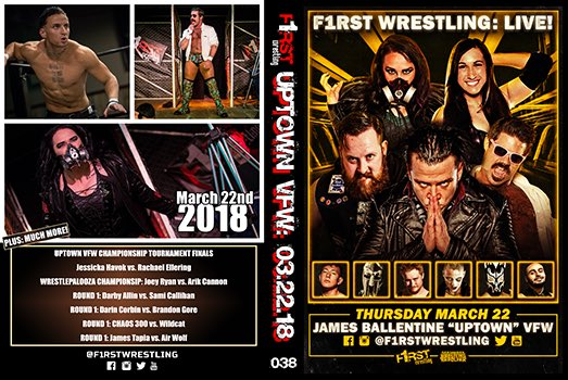 Our return to the @UptownVFW was a historic one...  As we crowned the #UptownVFWChampion!  Plus! @FearHavok vs. @RachaelEllering and @JoeyRyanOnline vs. @ArikCannon!  👉🏻 smartmarkvideo.com/promotions/f1r…
