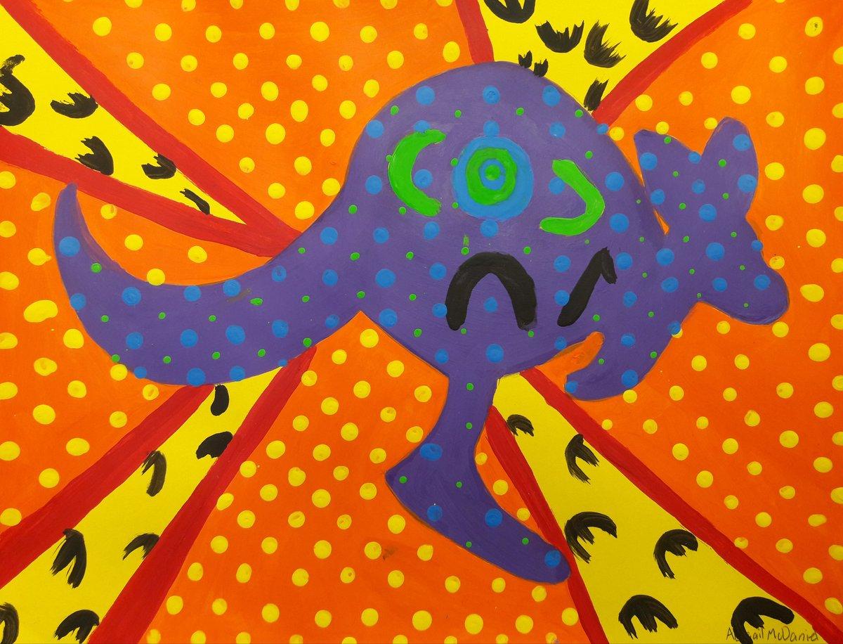 Conrady Art 68 On Twitter Conradyjaguars 7th Grade Aboriginal Dot