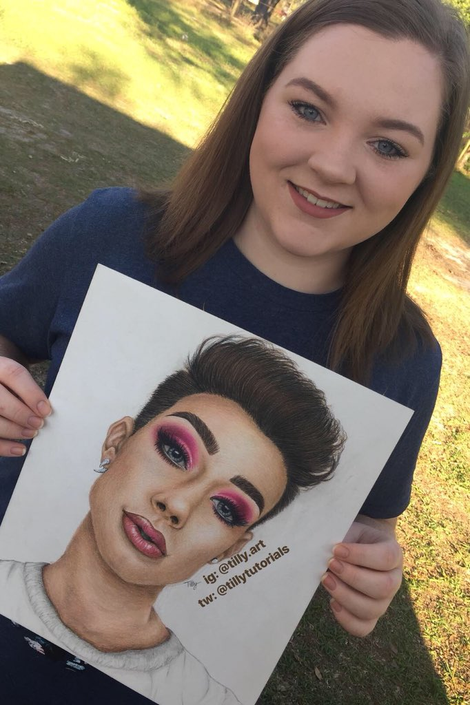 Happy Birthday to my favorite YouTuber, influencer, artist, MUA, celebrity, and most of all SISTER!! I hope 19 treats you as well as 18 did.  -Love Sister Tilly @jamescharles<br>http://pic.twitter.com/A4BFQJRPcF