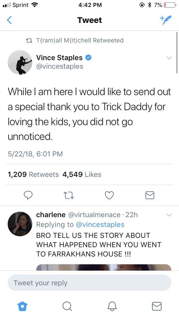 Vince Staples on Twitter: