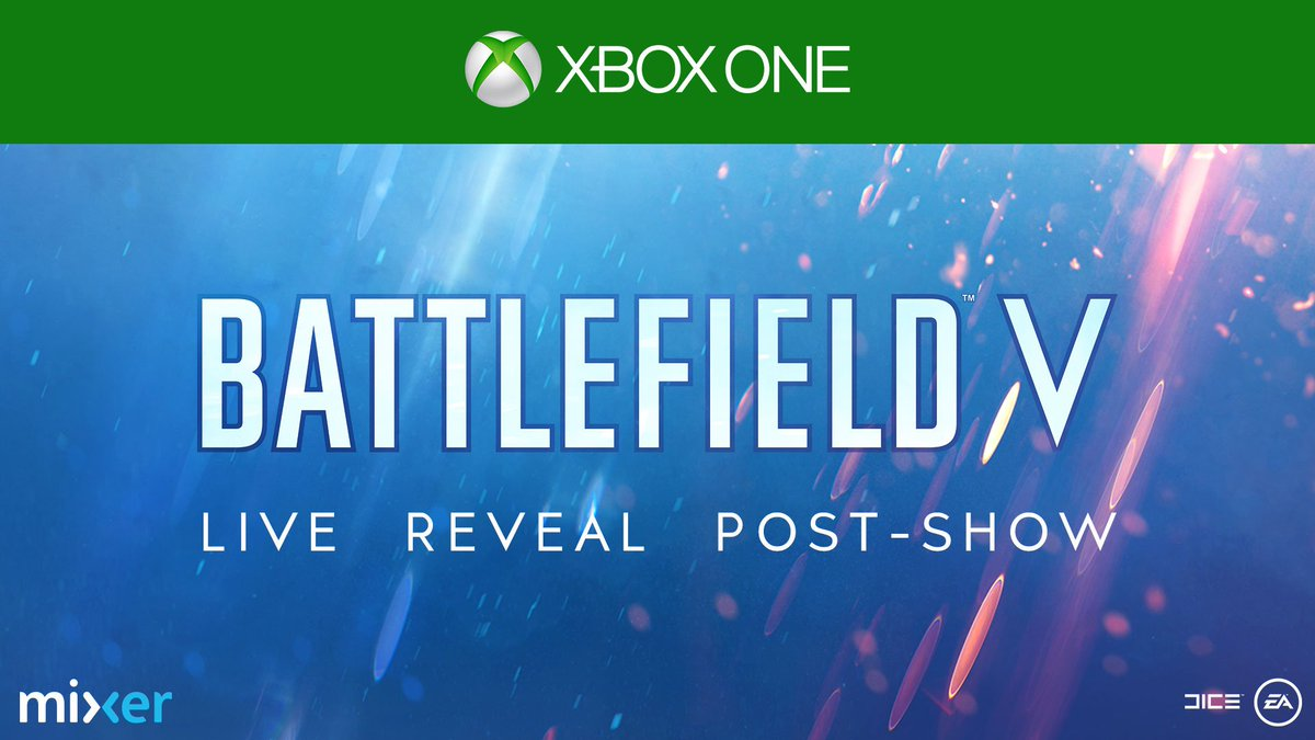Xbox's photo on Battlefield V
