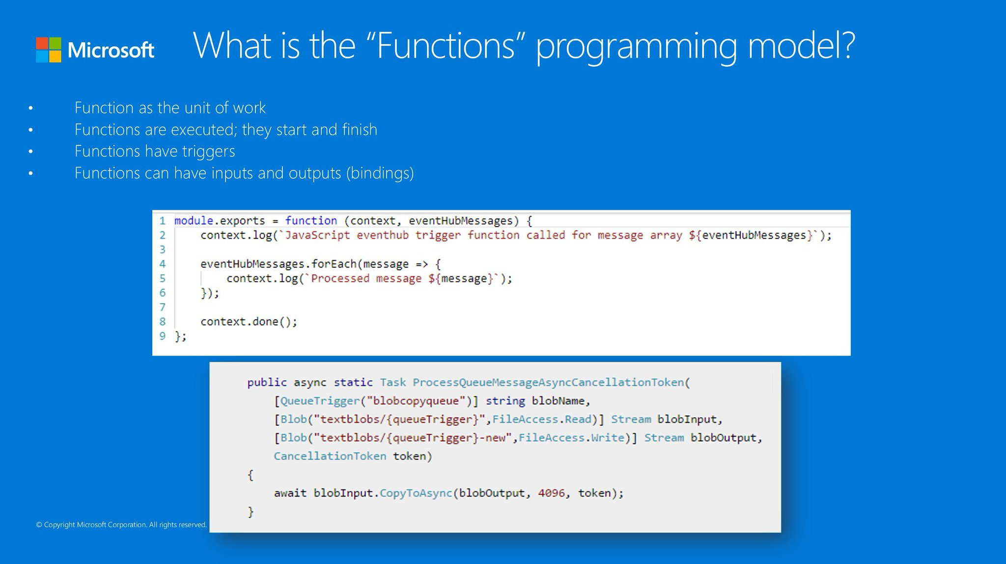 Azure Functions on Twitter: