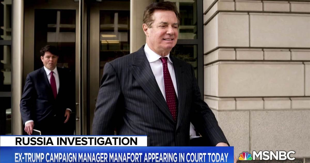 Manafort faces federal court hearing https://t.co/QMDWc921LV