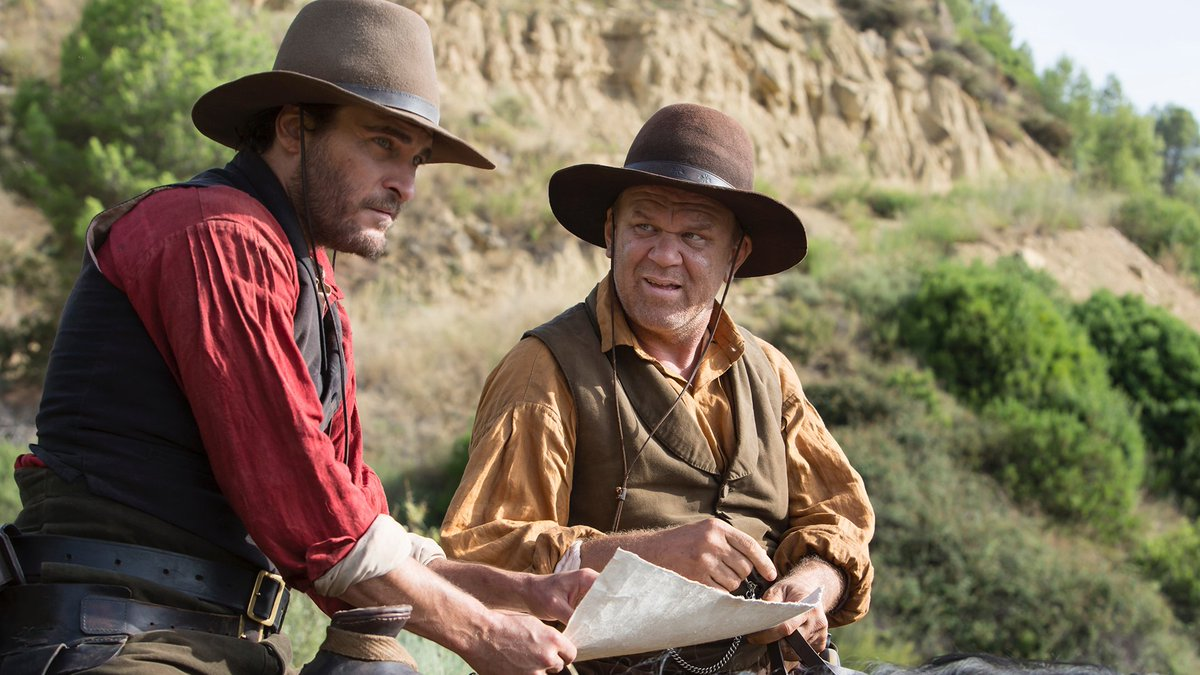 Joaquin Phoenix, John C. Reilly, Jake Gyllenhaal and Riz Ahmed star in the first trailer for The Sisters Brothers