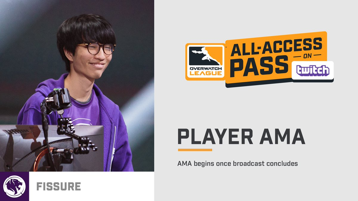 Passholders, get your question for him in using the AMA chat room on  @Twitch For more info on All-Access pass, visit  http://blizz.ly/AllAccessPass ...