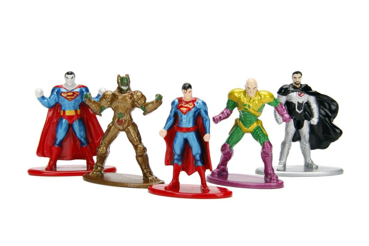 DC Comics pack un Die-cast métal Nano metalfigs 5 Pack