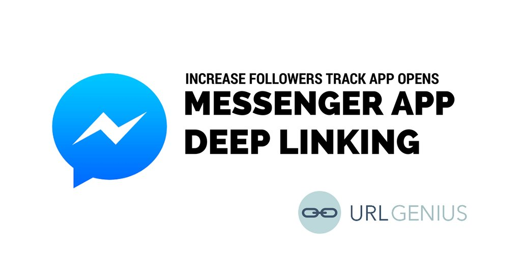 How can marketers link to their brand&#39;s Facebook #Messenger account from other #marketing channels while tracking app opens, geo and referring URL? Learn how in minutes  https:// urlgeni.us/messenger-deep -linking &nbsp; …  #CMO #ai #chatbots #customerservice #agencies #mobilegrowth #deeplinking #adtech <br>http://pic.twitter.com/w5BOJNZM4B