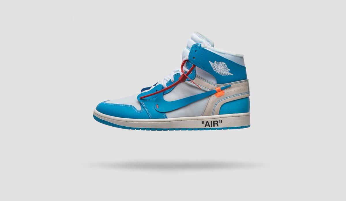 alma mater, the Off-White x Air Jordan
