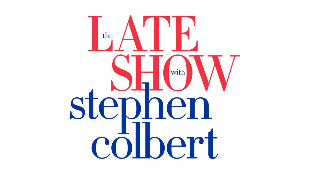 Tune in TONIGHT to see Jason's recent appearance on @colbertlateshow re-air @CBS #LSSC