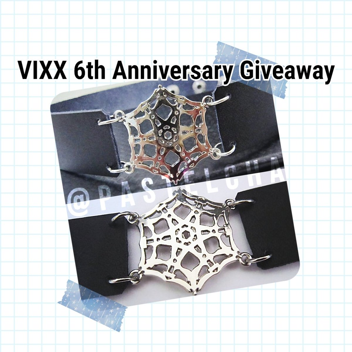 VIXX 6TH ANNIVERSARY GIVEAWAY    RT to enter   5 winners will be randomly selected   International, ships from U.S.   Must be following @pastelcha   Starlights only, please!        (I&#39;ll be checking bios)<br>http://pic.twitter.com/5Pa8oBiUF2