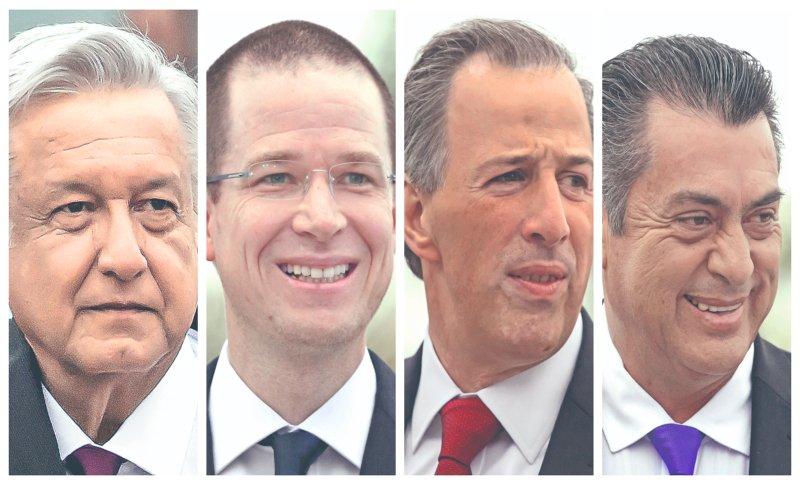 Olvidan los presidenciables visitar el estado de Campeche mientras que Aguascalientes, Colima, Baja California Sur y Nayarit son los estados menos visitados a 38 días de las #Elecciones2018 https://t.co/lW3JW0p1RH
