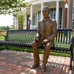 To inspire students and to enhance the engaging academic environment here at HPU, two more historical figures have been installed on campus. The sculptures, both which sit in front of Congdon, include Former President Ronald Reagan and George Washington Carver. @HPUpharmacy