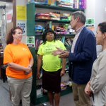 Wonderful visit today at the Dickson County Help Center. This terrific non-profit assisted 2,332 households totaling over 5,535 individuals with food, clothing and financial assistance during 2017. Thanks to Renee, Pam and your staff for hosting Maria and me for a tour today.