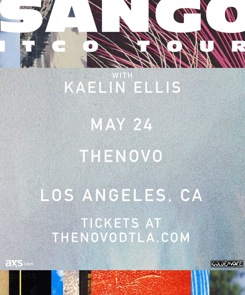 Don't miss @SangoBeats tomorrow night at @TheNovoDTLA presented by @goldenvoice. Get your tickets:  http://www. thenovodtla.com/events/detail/ 350907 &nbsp; … <br>http://pic.twitter.com/Z1PuONWT2x