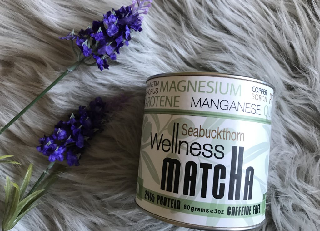 #BonusEntries Our Seabuckthorn Wellness Matcha is packed with organic antioxidants &amp; omegas that boost energy (w/o caffeine), reduce oxidative stress (aka aging) &amp; inflammation, + support your heart, skin, &amp; health. Follow + RT to enter   #WellnessWednesday #health #Giveaway<br>http://pic.twitter.com/4VcOCXinNX