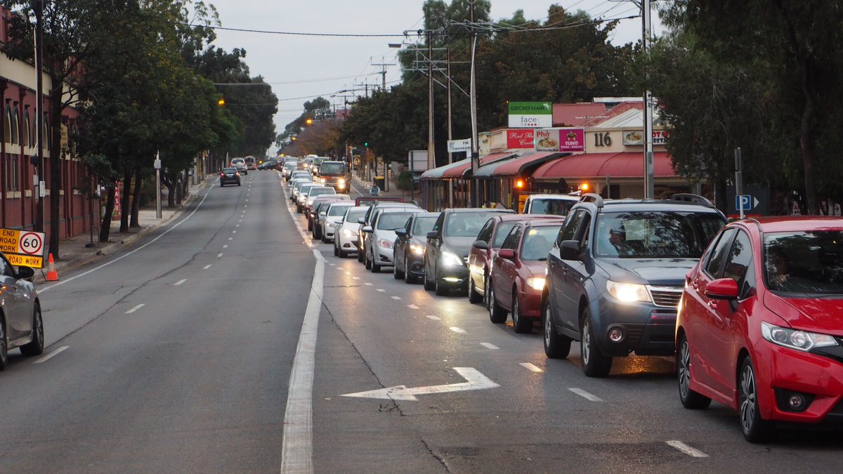 ABC Adelaide On Twitter Daylight Has Revealed Extent Of Damage To Payneham Rd Nelson St Intersection Traffic Very Slow Coming In From NE