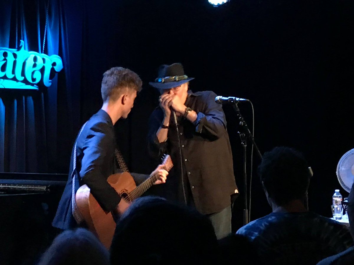 Congrats Board Member @MattJaffeMusic who recently opened for John Popper of @blues_traveler at the @SweetwaterMV. @DPerronBandR reported their encore of #JohnnyCash &quot;Folsom Prison Blues&quot; was a real showstopper!<br>http://pic.twitter.com/EhYlvlkZ4f