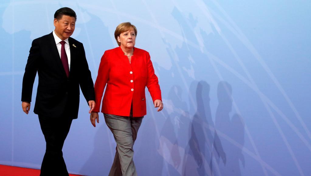 Merkel en Chine pour riposter aux menaces de guerre commerciale de Trump https://t.co/3XWfiebfZb