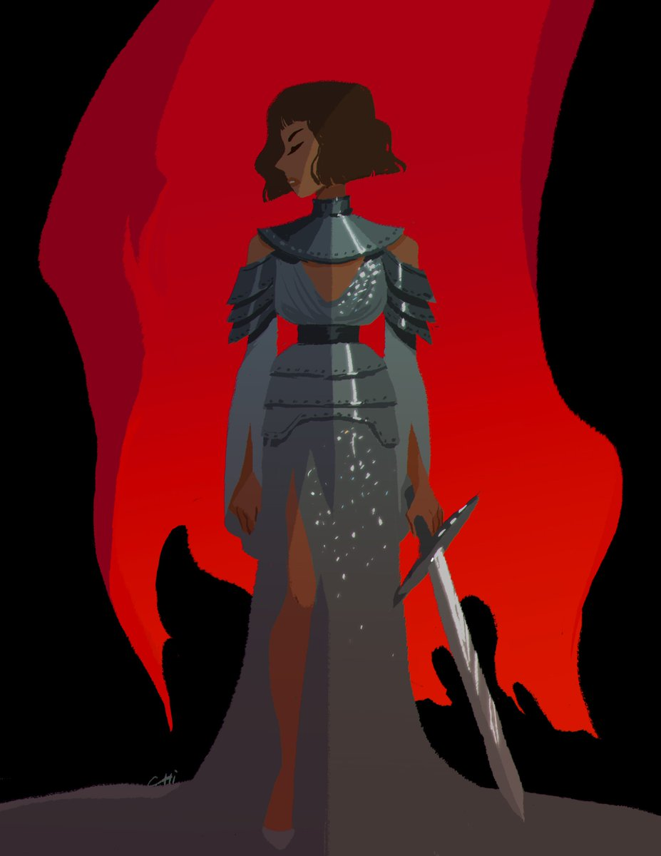 Really late #MetGala illustration  Zendaya&#39;s look was so amazing *_* <br>http://pic.twitter.com/DpYYWHex1D