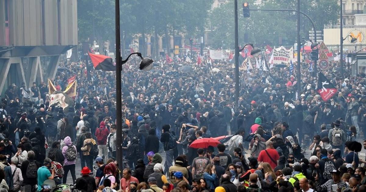 Manifestation à Paris : 73 personnes présentées jeudi au parquet https://t.co/06vzMwtaP1