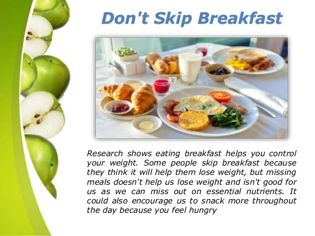 #WellnessWednesday Tip of the week! Don't skip #Breakfast! It really is the most important meal of the day!<br>http://pic.twitter.com/mkZnLpXp6E