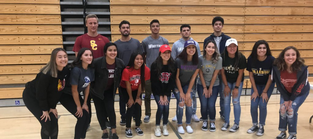 La Serna honors student athletes with special signing day ceremony https://t.co/MxeCF0aw66