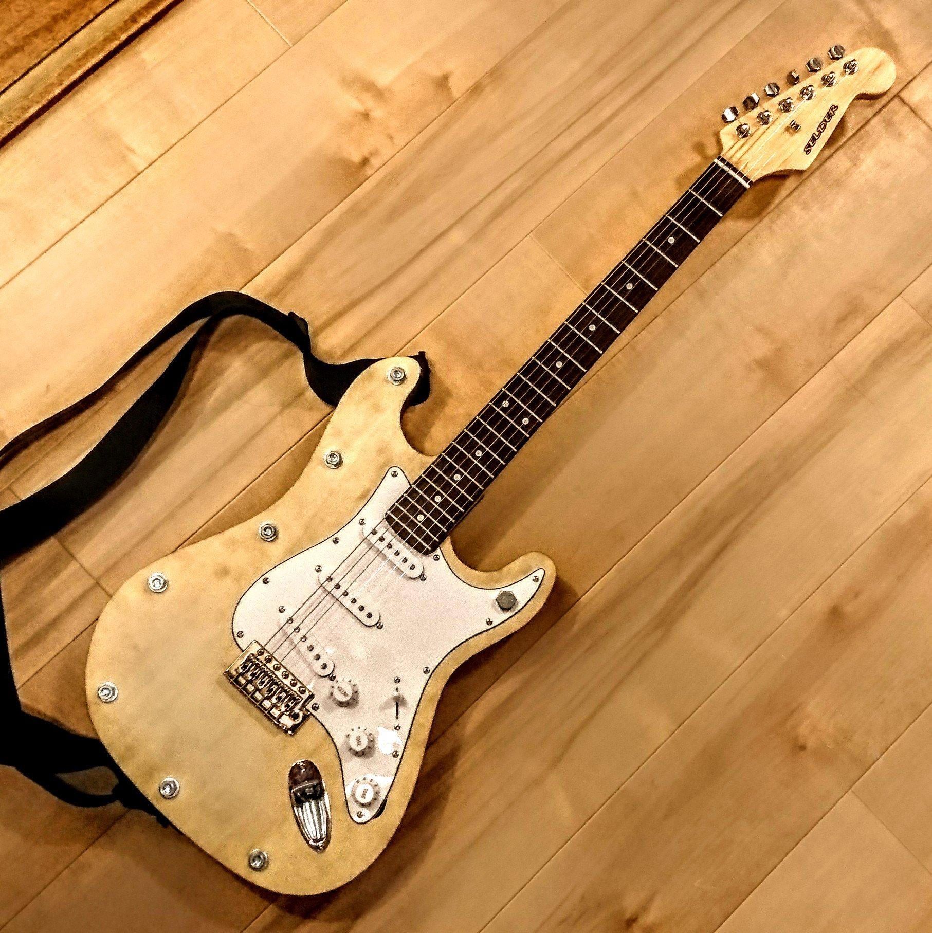 オリジナルギターの写真