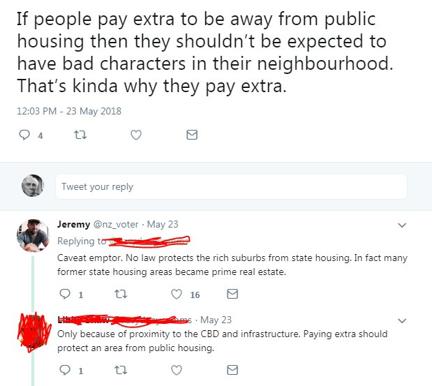 The thing about the moderately rich is that their sense of entitlement far outweighs their actual wealth. They want rights over an entire neighbourhood but can only afford the house <br>http://pic.twitter.com/vg9HW0wf5Q